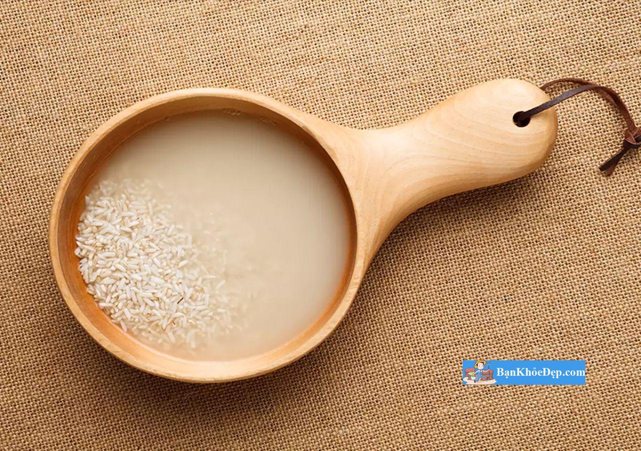 hướng dẫn làm trắng da bằng nước vo gạo