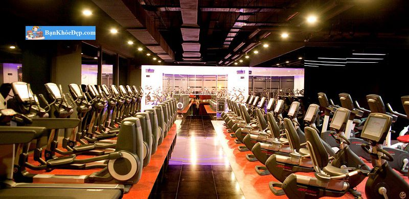 tập gym ở california fitness